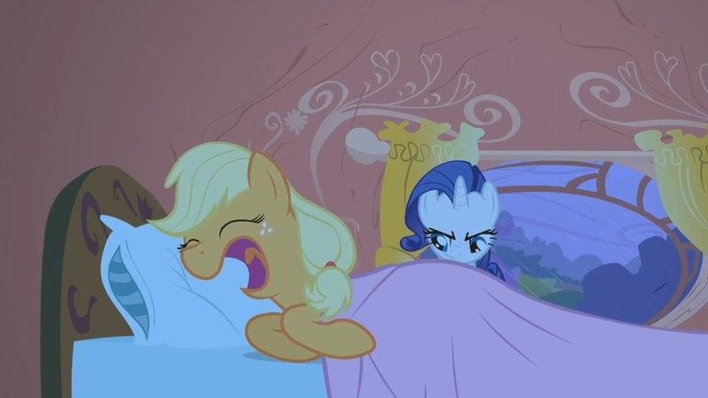 Applejack - Can't hear ya, I'm asleep.