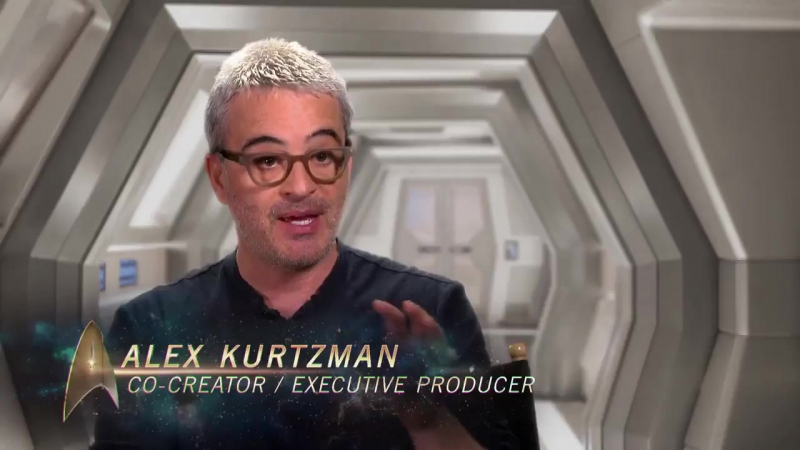Звездный путь: Дискавери - (Star Trek: Discovery) - интервью Алекса Куцмана и обзор мостика звездолета