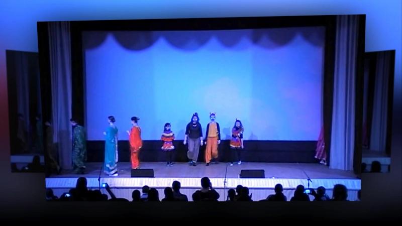 Ролик театрализованное представление Рамаяна