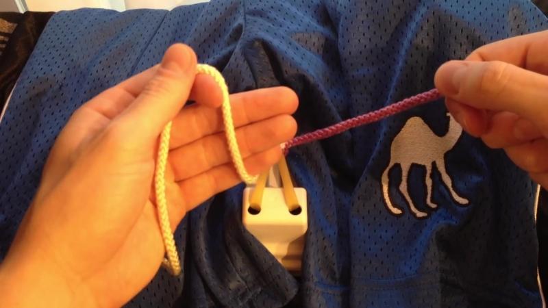 Хирургический узел одноручный, левша