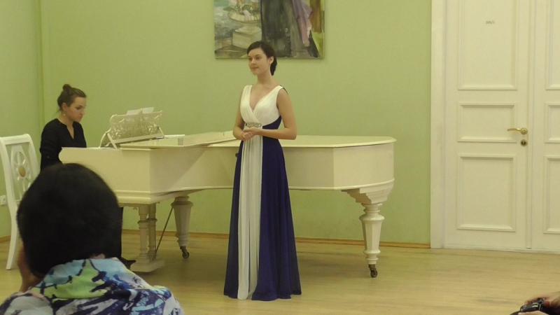 Песня Ольги из оперы Даргомыжского Русалка. Исполняет Майя Васильева, 15 лет