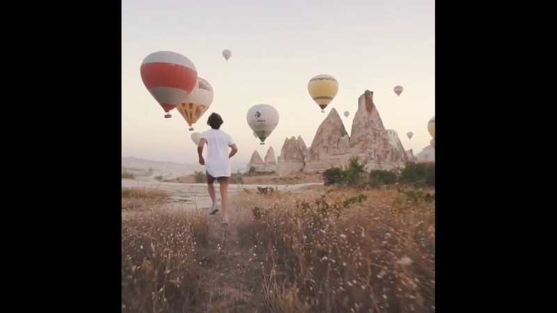 Cappadocia, Turkey   by @saltinourhair - Unbelievable Places Around The world