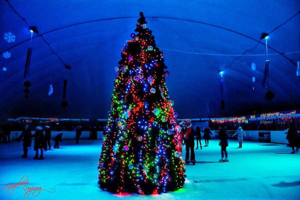 Новогоднее настроение на катке «Ледовый период»
