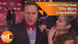 The Voice UK Lauren's hilarious Olly Murs impression!