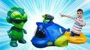 Игры для мальчиков в инопланетян — Распаковка игрушек — Эксзоджини Exogini