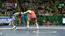 Round 1 FS 61 kg A GVARZATILOV AZE v Y BONNE RODRIG CUB
