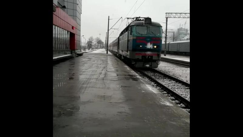 Чс4-125 з транзитним поїздом 6665 РЖД Кишинів - Москва ст.Фастів