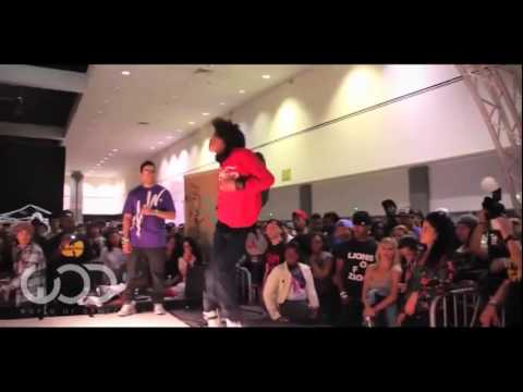 Les Twins Laurent vs Outrage World of Dance LA 2012 Allstyles Battle