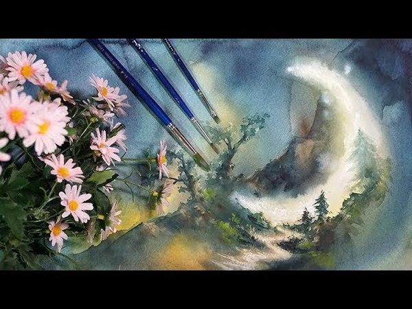 수채화일러스트,달그리기,초현실주의,watercolor,illust,painting,eruda,이루다