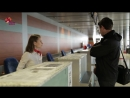 How to Check In at an airport. Learn English with MovaMedova. Free