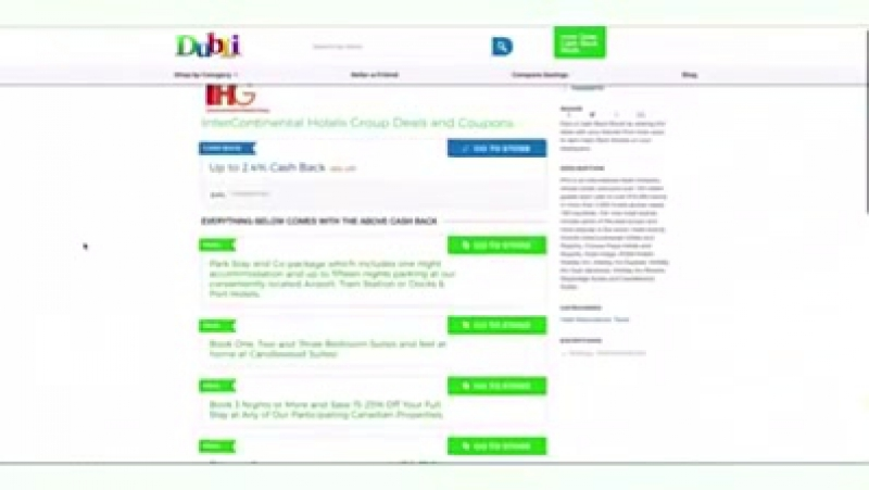 How to shop with cash back from Dubli