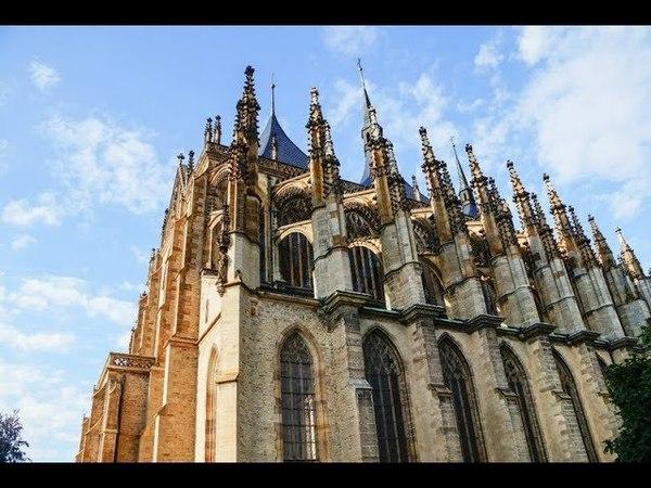 Собор Святой Варвары Кутна-Гора Чехия / St. Barbara's Church Kutna Hora Czech Republic
