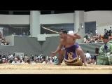 弓取り式で弓を落としたら…(2014.08.17釧路巡業)