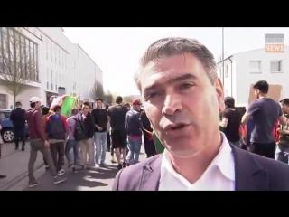 """Fulda - """"Wir wollen Gerechtigkeit"""" 70 Asylanten demonstrieren gegen tödliche Polizeischüsse vor Bäckerei"""