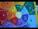 мини обзор развивающией странички Радужный круг от мастерской Букашка