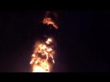 В Южно-Сахалинске  на площади Ленина сгорела елка.[via torchbrowser.com]
