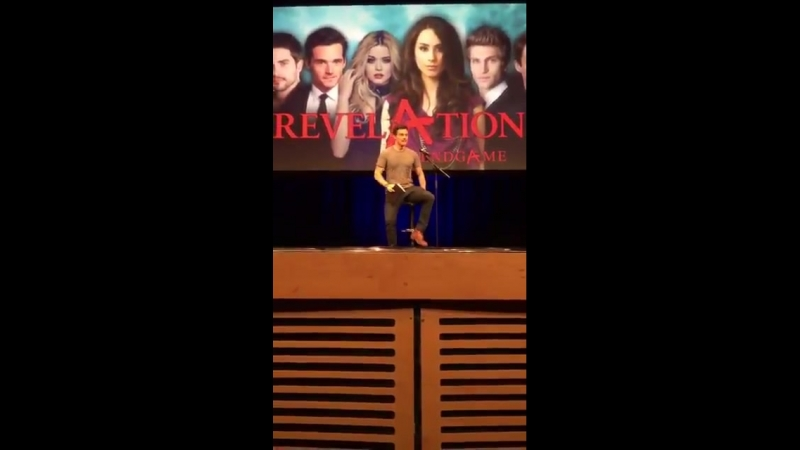 Ian Harding talking about Demi at the RevelAtions Endgame UK Convention