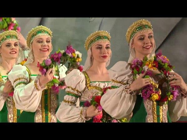 Выступление ансамбля Завалинка на церемонии вручения премии им Алексея Угарова