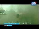 Огненная Хонда. Автомобиль загорелся на дороге в Тайшете