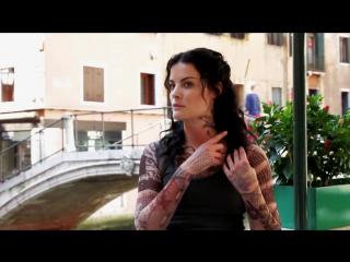Интервью Джейми Александер на съемках в Венеции