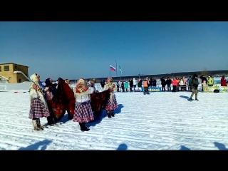 Коми обряды на на лыжном фестивале «Лямпиада»