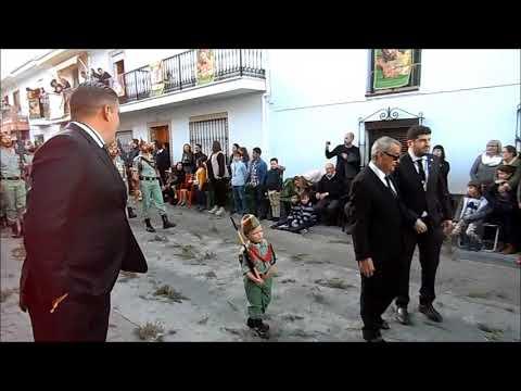 Un futuro legionario, La Legion El Novio de la Muerte, Semana Santa 2018, ALHAURIN, 30/03