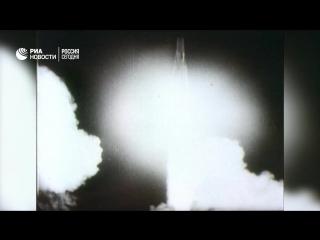 Запуск первого в мире  искусственного спутника Земли