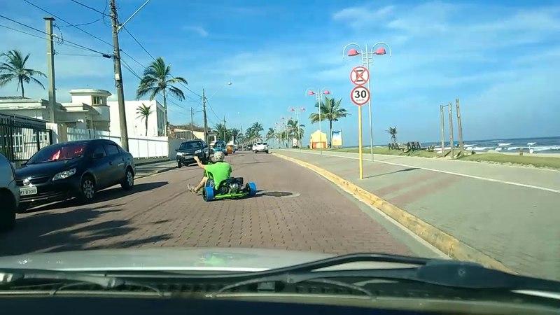 DTMSP - Drift Trike Motorizado em Itanhaém