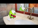 Пригоди Ам Няма: Пора купатися! (Епізод 2, Cut the Rope)