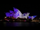 Sydney Opera House Lighting the Sails 2016 - Songlines