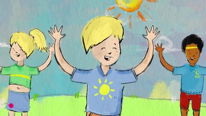 Stampf und Klatsch (Animiertes Tanzvideo) - Lichterkinder - Kinderlieder - Bewegungslieder (1)