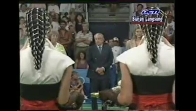 Final Bulutangkis Tunggal Putri Olimpiade - Susi Susanti VS Bang Soo Hyun @ RCTI 1992 (Part 2)