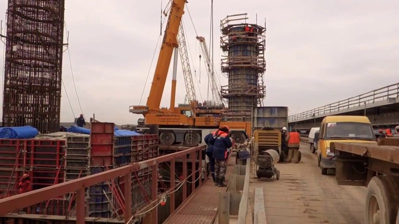 крымский мост БУДНИ РАБОЧИХ строительство НОВИНКА