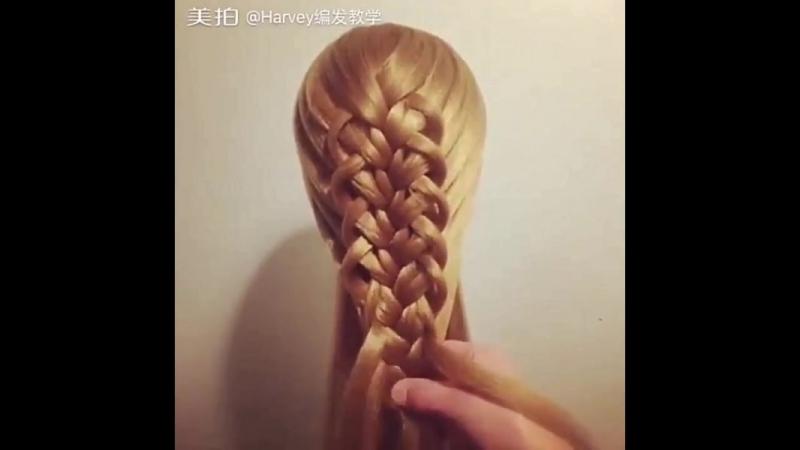 Урок ажурного плетения