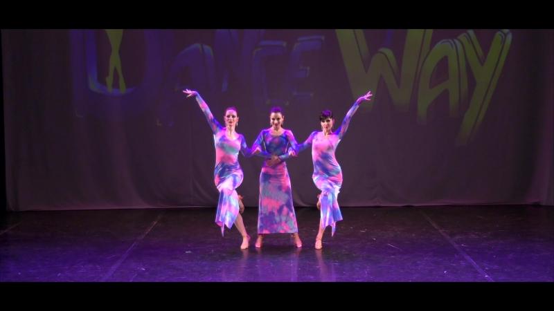 1-е место на конкурсе Dance Way латина