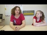 Отзыв мамы Елены об успехах дочки Лизы в академии Амакидс на Индустриальном 40