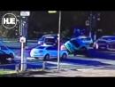 В Комсомольске-на-Амуре девушка с рекламой услуг окулиста врезалась в стоящую машину