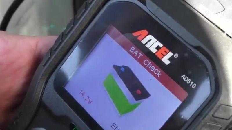 Ансель AD510 Pro диагностический сканер OBD 2 EOBD.Ancel OBD2 AD510 Pro Car Diag