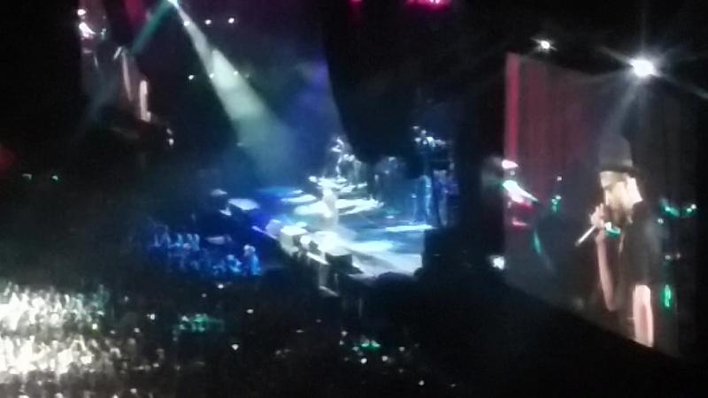 Sexy back! Концерт Джастина Тимбэрлэйка в моем университете! Pharrel; Ariana Grande!
