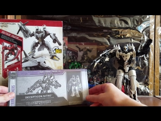 Transformers 5 The Last Knight Nito Zeus Voyager Class Toy Review