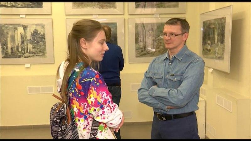 Выставка художницы Ольги Луцко открылась в Тюмени