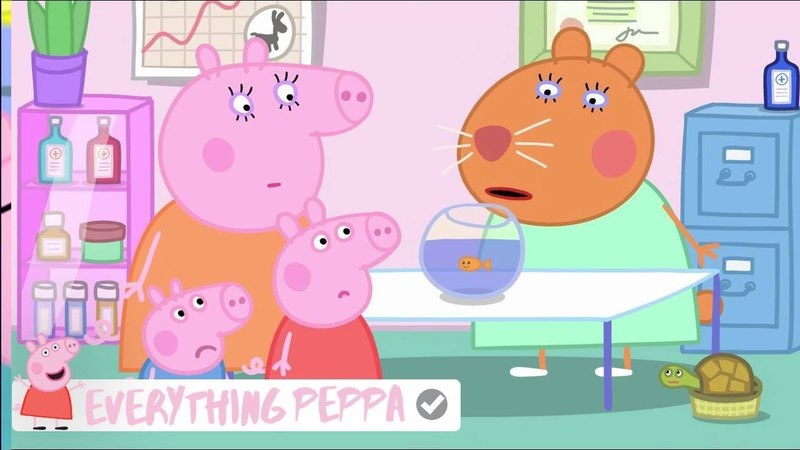 Peppa Pig - Goldie the Fish Episode! 2018 HD