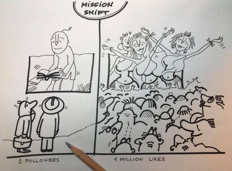 ОТКЛОНЕНИЕ ОТ МИССИИ
