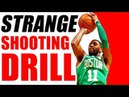 Kyrie Irving's STRANGE SECRET Shooting Drill! NOT Perfect Shooting Form