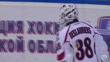 Моменты из матчей КХЛ сезона 1415 Гол. 62. Таратухин Андрей (Атлант) перевел шайбу в пустой угол. 24.02