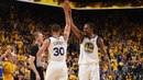 Warriors Light It Up In Overtime To Beat The Cavs 124-114 In Game 1 NBANews NBA NBAPlayoffs Warriors