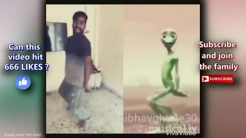 Dame Tu Cosita Challenge Girl Green Alien Dance👽El Chombo Dame Tu Cosita Offici