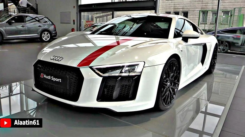 Audi R8 V10 RWS 2018 Limited Edition - 540hp 320km/h - NEW FULL Review Interior Exterior