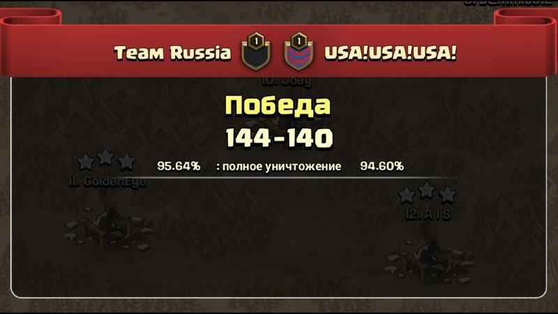 CWL Олимпиада 2й тур Россия vs США1