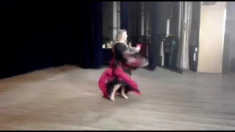 ШВТ ЗЕЙНАБ Oriental Fantasy Show 21.04.2018.Синьоры1.Соло.Цыганский танец «Песня Рады». Начинающие.Протасова Ольга